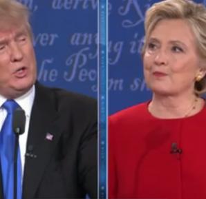 Debate presidencial Hillary Clinton y Donald Trump
