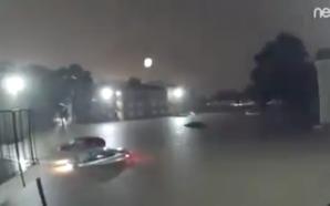 Los estragos del Huracán Harvey en segundos